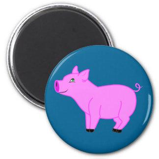 Imán rosado del cerdo