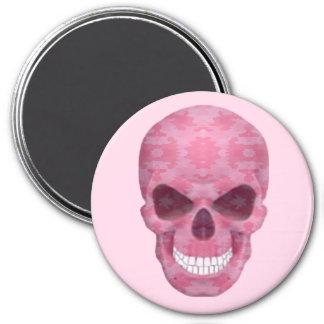 Imán rosado del cráneo del camuflaje