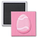 Imán (rosado) del huevo de Pascua