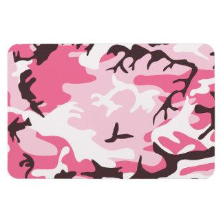 Imán rosado del premio del camuflaje