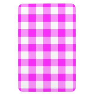 Imán rosado y blanco clásico del modelo de la