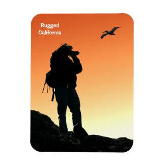 Imán rugoso del caminante de California