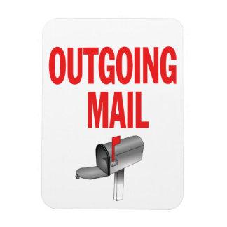 Imán saliente de la recogida del correo