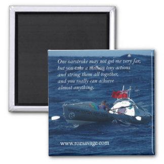 Imán salvaje de Roz (Roz en su barco)