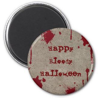 Imán sangriento de Halloween