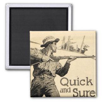 Imán seguro rápido del anuncio del arma del rifle