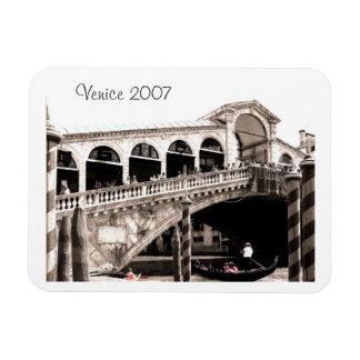 Imán - sepia del puente de Rialto
