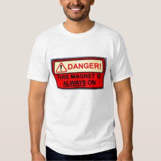 Imán siempre en la camiseta playeras