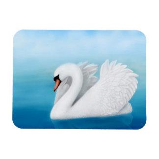 Imán solitario del premio del cisne mudo
