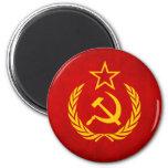 Imán soviético de la bandera