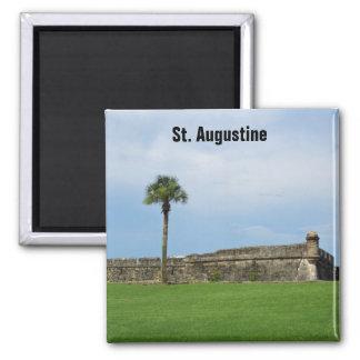 Imán St Augustine del fuerte de Castillo de San Ma
