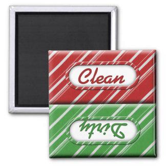 Imán sucio limpio del lavaplatos del bastón de car