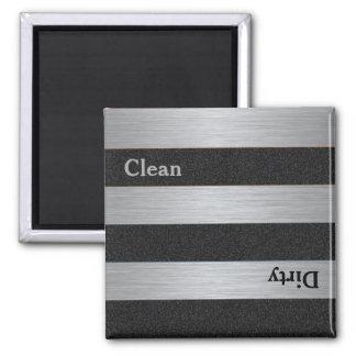 Imán sucio limpio moderno del lavaplatos