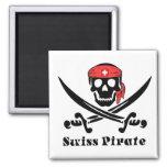 Imán suizo del pirata