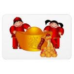 Imán superior chino de Flexi del Año Nuevo