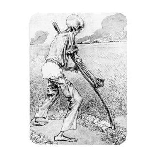 Imán superior de Flexi de la cosecha del segador