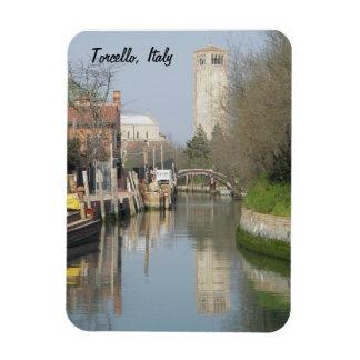 Imán superior de Flexi de la torre de Torcello