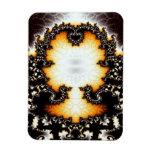 Imán superior de Flexi del ángel del fractal