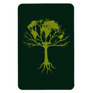 Imán superior de Flexi del árbol del mundo