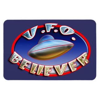 Imán superior de Flexi del creyente del UFO
