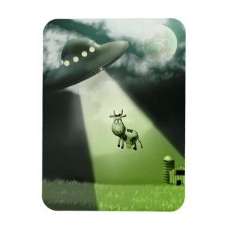 Imán superior de Flexi del UFO de la abducción cóm