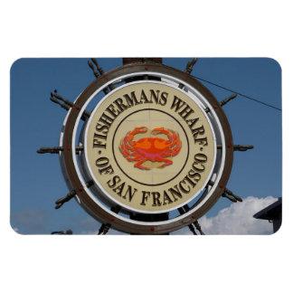Imán superior de San Francisco, California Flexi