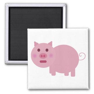 Imán tímido del cerdo