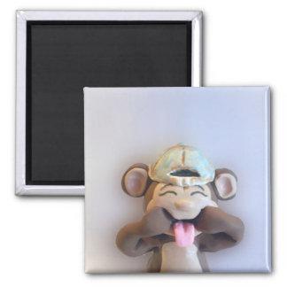 Imán tonto del mono