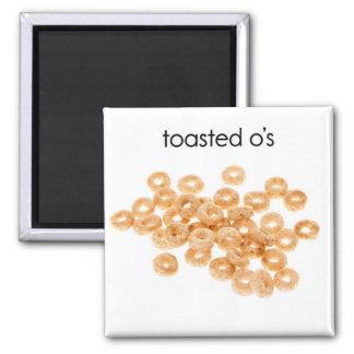 Imán tostado del refrigerador del OS