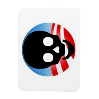 Imán tóxico de Obama (pulgadas 3x4)