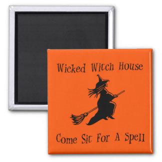 Imán travieso de la casa de la bruja