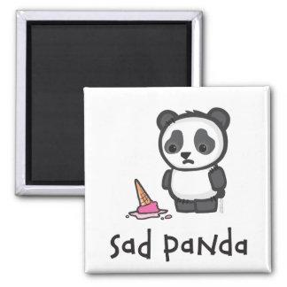 Imán triste de la panda