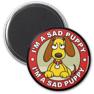 Imán triste del perrito