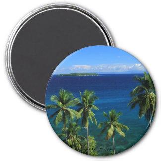 Imán tropical de la playa de la isla