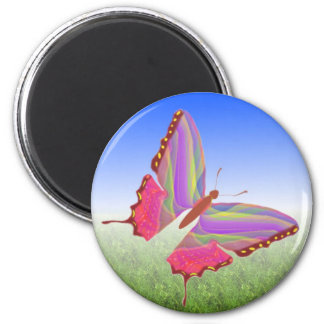 Imán único de la mariposa