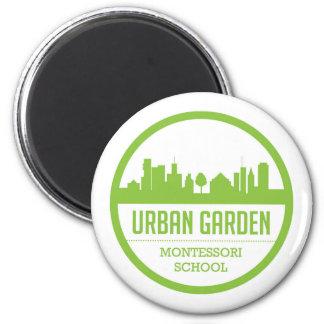 Imán urbano de Montessori del jardín