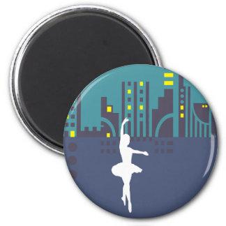 Imán urbano del bailarín de ballet