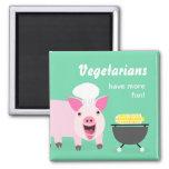 Imán vegetariano del cerdo