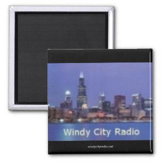 Imán ventoso de la radio de la ciudad