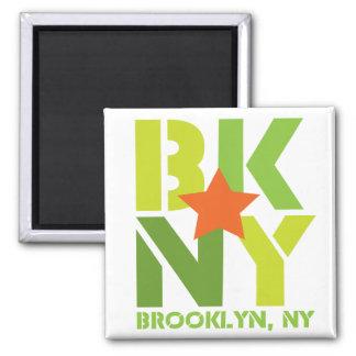 Imán verde de BK Brooklyn