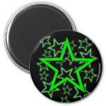 Imán verde de la estrella