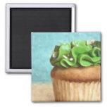 Imán verde de la pintura de la foto de la magdalen