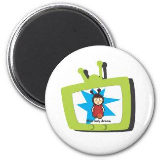 Imán verde de la TV LLD