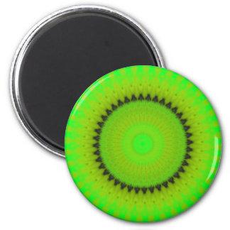 Imán verde del caleidoscopio