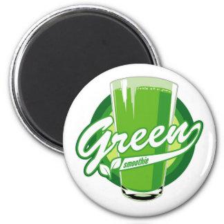Imán verde del smoothie