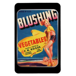 Imán - verduras de ruborización por GalleryGifts