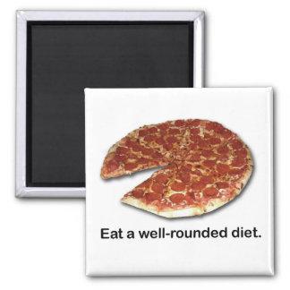 Imán versátil del cuadrado de la dieta