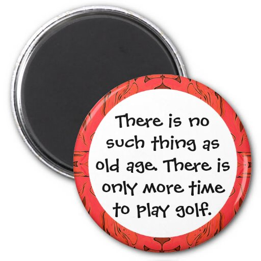 imán viejo de los golfistas