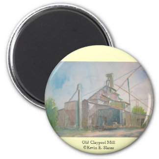 Imán viejo del molino de Claypool de Kevin E Slat