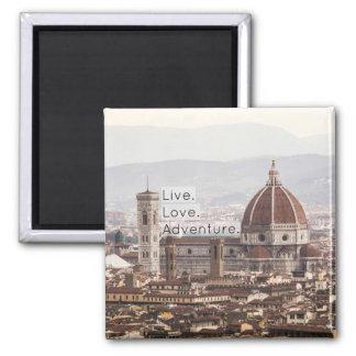 Imán vivo de Florencia de la aventura del amor